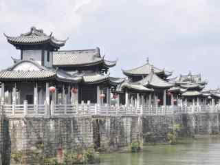 潮州广济桥风景壁纸
