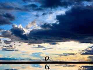 西藏纳木错特色风景图片