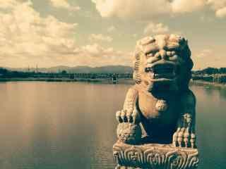 卢沟桥唯美风景桌面壁纸