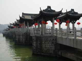 潮州广济桥高清风景壁纸