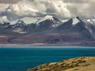 西藏圣湖玛旁雍错唯美风景图片