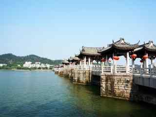 潮州广济桥风景图片