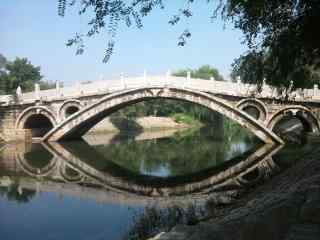 赵州桥风景图片桌面壁纸