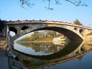 赵州桥风景图片壁纸