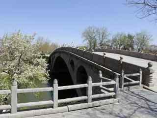 赵州桥摄影图片桌面壁纸