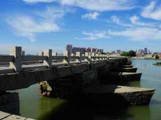 洛阳桥高清风景桌面壁纸