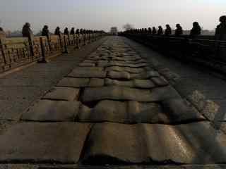 卢沟桥摄影风景图片