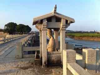 洛阳桥摄影风景图片