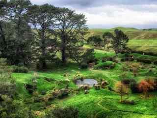 绿色田园美景高清