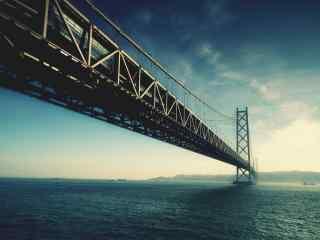 雄伟的大桥风景图