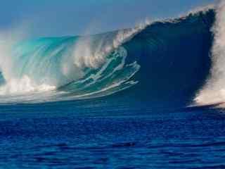 超好看的海浪图片