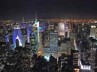 城市夜景摄影桌面壁纸