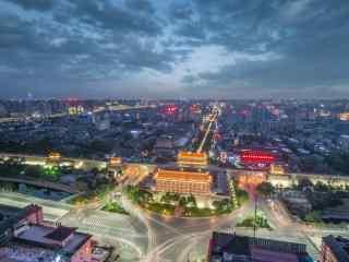 城市夜景之西安风景图片