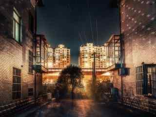 城市夜景摄影唯美图片