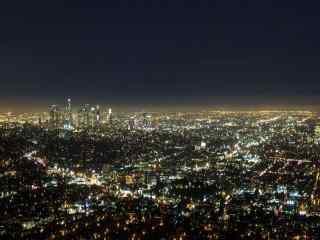 城市夜景之灯光美景图片