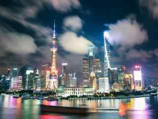 城市夜景-上海城市风景