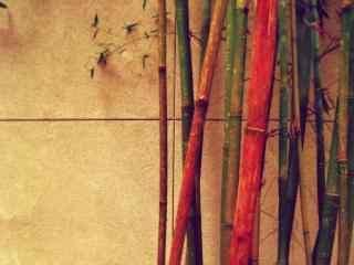 小竹林风景桌面壁纸