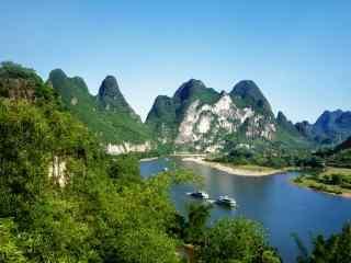 桂林漓江九马画山风景壁纸