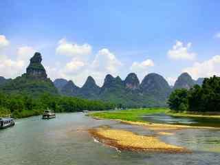 小清新漓江风景桌面壁纸