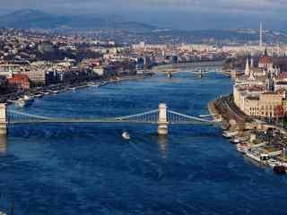 唯美多瑙河摄影图