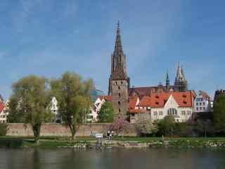 欧洲多瑙河摄影图