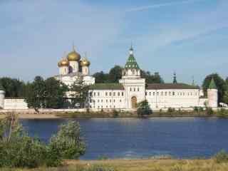 伏尔加河流摄影图