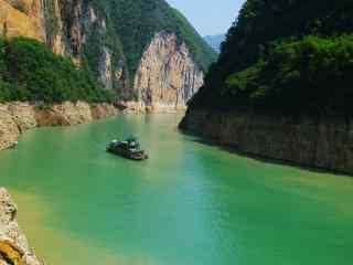 美丽清新的长江风景图片