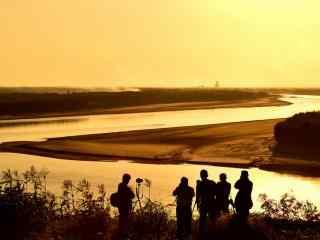 美丽的黄河风景图片桌面壁纸