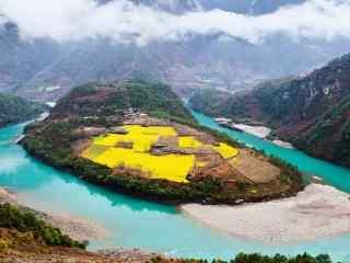 好看的怒江风景图