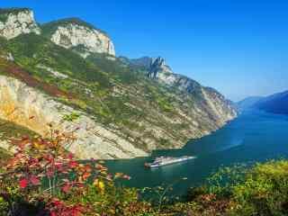 清新唯美的长江流域风景图片