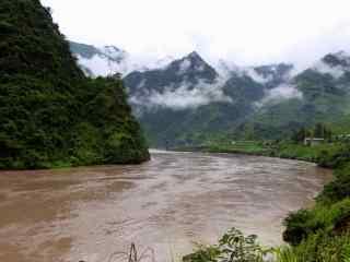 小清新的怒江风景