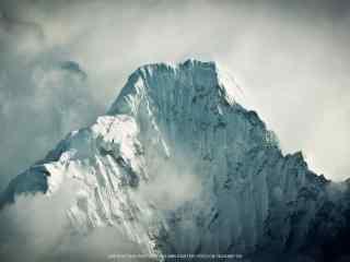 好看的喜马拉雅雪山风景桌面壁纸