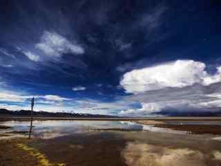 西藏圣湖纳木错风景桌面壁纸