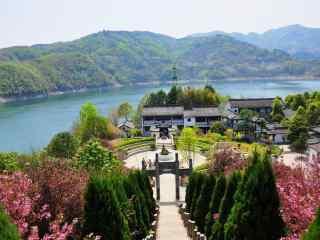 唯美的汉江风景图