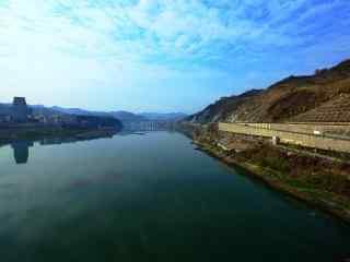 好看的汉江风景图