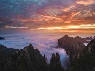 唯美好看的云雾缭