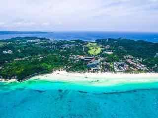 小清新菲律宾长滩岛高清风景壁纸