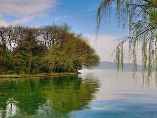 谷雨习俗-走谷雨唯美风景壁纸