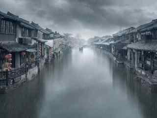 唯美的烟雨江南风景壁纸
