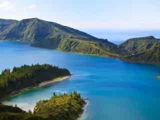 蓝色系列海岛美景