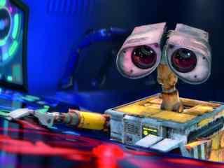 蓝色主题机器人总