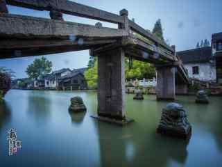 乌镇古镇之小桥流水风景壁纸