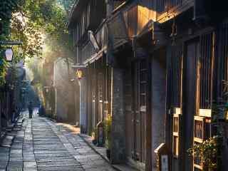 乌镇古镇清晨风景壁纸