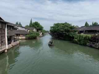 乌镇水乡清新风景壁纸