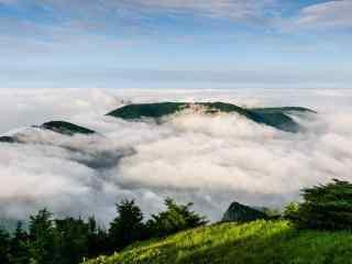 雾灵山高清风景壁纸