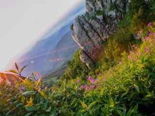 雾灵山小清新风景桌面壁纸