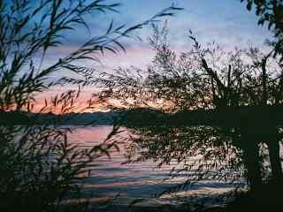 唯美泸沽湖风景图