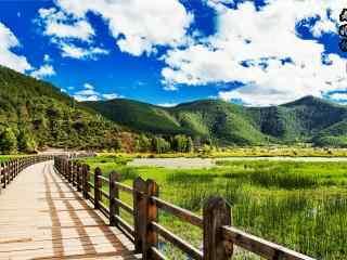 泸沽湖走婚桥小清