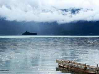 静谧的泸沽湖美景