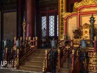 故宫乾清宫里壮观景象桌面壁纸